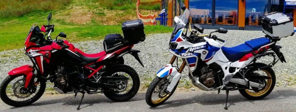 Z motocyklem na Ty